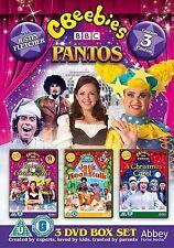 CBeebies Panto Box Set       **Brand New DVD**  Justin Fletcher
