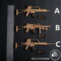 1/6 CT2016008A/B/C German G36 Rifle Gun Model Weapon Toy Fit 12'' Soldier Figure