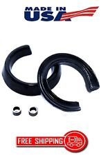 """FORD RANGER 98-13 FRONT LIFT KIT 2"""" BLACK DELRIN SPRING SPACERS EXTENDERS 2WD"""