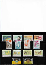 Bahamas, lot of four complete series. mnh.