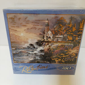 """NEW Reflections Puzzle Twilight Beacon 750 pc. with Foil Accents ~ 19"""" x 26"""""""
