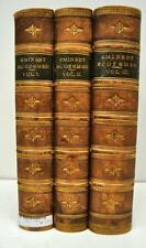 A Biographical Dictionary of Eminent Scotsmen, 3 Volumes, 1875, Thomson