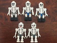 LEGO 1x Minifig Mini Figure Skeleton Ninjago Excellent condition