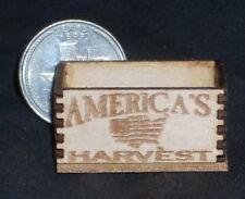 America's Harvest Produce Crate 1:12 Miniature Market Farm Grocery Store