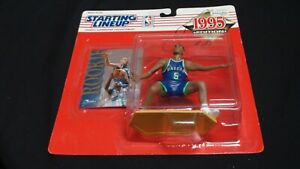 1995 Starting Lineup Action Figure Signed by Jason Kidd