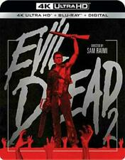 Evil Dead 2 (theodore Raimi Kassie Wesley) Two 4k Mastering Blu-ray Digital