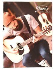 Ibanez Acoustic Guitars 2011 Dealers Catalog, Vai Satriani Artwood Talman Sage