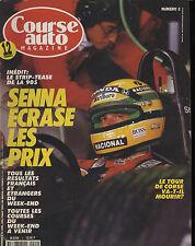 COURSE AUTO n°2 30/04/1991 GP SAN MARIN ALFA 164 V6 TURBO HONDA LEGEND 24V