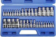 34pcs Hex Key Master Allen Wrench Socket Bit For Ratchet Socket Tool Set Metric
