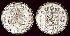 1 gulden 1968 fish Juliana NETHERLANDS Nederland Pays-Bas