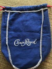 Crown Royal Texas Mesquite Blue Bag LIMITED EDITION w/ Red Drawstring No Star