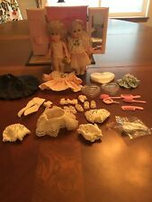 Takara Licca-Chan Pink Armoire, Stands, Hair Acess, 2 80's Ginny Dolls, Clothes