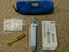 Katadyn Pocket Water Filter - Includes all accessories shown
