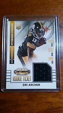 DRI ARCHER 2014 PANINI CONTENDERS ROOKIE TICKET USED WORN JERSEY RC #RTS-17