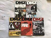 DMZ graphic novel TPB lot #1,2,4,5- Brian Wood - Vertigo