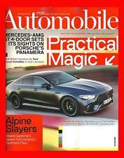 Automobile Magazine~MERCEDES-AMG GT 4-DOOR + SLIP SLIDING ON SNOW/ICE~June 2018