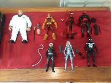 Marvel Legends Spider-Man Kingpin BAF Wave Lot Mint Hasbro Complete
