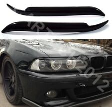 Fits BMW 5 Series E39 Headlights  Eyebrows ABS Plastic, tuning