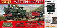 Hornby Western Master With E-Link Dcc 00 Gauge Electric Train Set