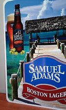"Samuel Adams Boston lager Aluminum Beer sign 12"" x 18"", Bar- Pub, Cave man"