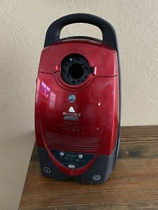Red BISSELL DigiPro Bagged Canister Vacuum Cleaner Model 6900 Motor & Tools Only