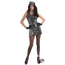 Adult Sexy Sequined Prisoner Costume