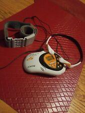 Sony S2 Sports Walkman Arm Band TV/Radio/Weather FM/AM SRF-M80V with Headphones