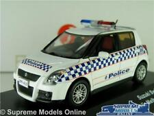 SUZUKI SWIFT MODEL CAR AUSTRALIA POLICE 2010 1:43 SCALE J-COLLECTION JC157 K8