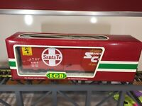 LGB 45915 Santa Fe Boxcar - New In Box  -  Metal Wheels - G Scale