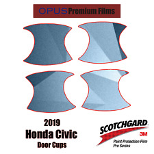 2019 Honda Civic 3M PRO Series Paint Protection Kit for Door Cups
