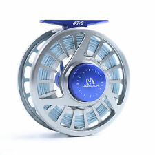 Saltwater Fly Reel with Line 7/8wt Fly Fishing Reel WF8F Sea Fishing Fly Line