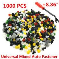 Universal Car Auto 1000PCS Mixed Fastener Push Pin Door Trim Panel Clips w/tool
