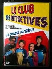 LE CLUB DES DETECTIVES - LA CHASSE AU TRESOR -  DVD NEUF (A1