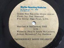 "Screamin' Jay Hawkins ""Monkberry Moon Delight"" RARE ~ Acetate  McCartney Beatles"