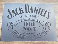 A4 Jack Daniels Whiskey Stencil Bar Sign Garden Pub Wall Craft Alcohol Decor