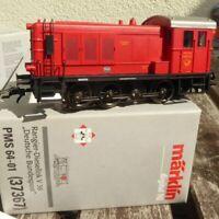 Märklin 37367 PMS 64-01 Stangen-Rangier-Diesellok V 36 der DBP rot, Deutz-Lok !!