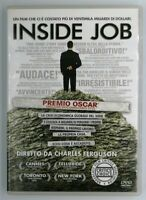 Inside Job DVD Charles Ferguson Documentario Crisi Economica Globale 2008 Video