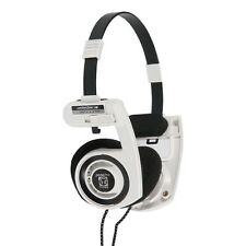 Koss Porta Pro White On Ear Stereo Folding Headphones Portapro 100 % Genuine