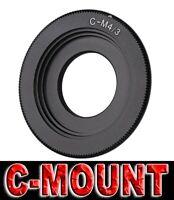 ANELLO ADATTATORE C MOUNT ADAPTER RING MICRO 4/3 ADATTO A PANASONIC GH5 GH4 GH3