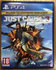 JUST CAUSE 3 PS4 GAME PLAYSTATION 4 INCLUDES THE WEAPONISED VEHICLE PACK