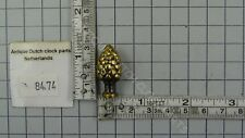 ACORN FOR THE CORNERS OF DUTCH WARMINK TABLE CLOCK