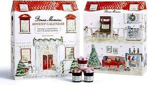 Bonne Maman 2020 Limited Edition Advent Calendar, with 23x30g Mini Fruit Spreads