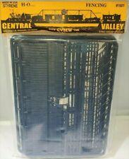 Central Valley (HO) #1601 FENCES & RAILINGS - NIB KIT