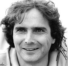 "Nelson Piquet SIGNED Nigel Snowdon Original Period Portrait , ""Signed by Nigel"""