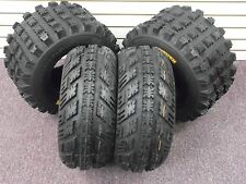 21x7-10 & 20x10-9 AMBUSH ATV TIRES SET 4 HONDA TRX 300EX 400EX 400X 450R