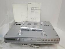 Sony ICF-DVD57TV Under the Cabinet LCD-TV/DVD/CD Clock Radio, New