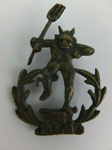 WW1 13th Australian Light Horse Devil Hat Badge