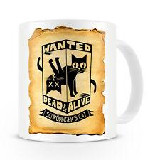 Schrodingers Cat Wanted Mug / Geek / Gift