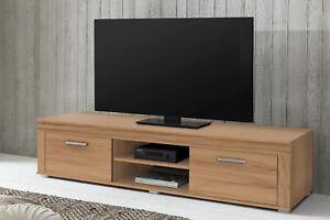 Wilmes: Lowboard Fernsehkommode Fernsehtisch TV-Kommode Fernsehboard- Kernbuche