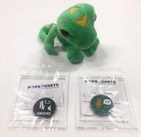 E3 2019 Exclusive Geico gecko plush insurance toy promo stuffed Bundle lizard